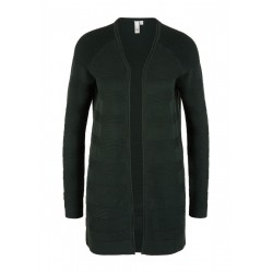 Open Front-Jacke mit Strickmuster by Q/S designed by