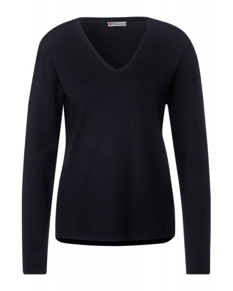 Pull doux de couleur unie by Street One