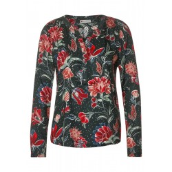Blouse with floral pattern by Street One