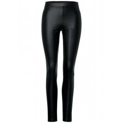 Leggings in Lederoptik by Street One