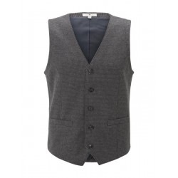Suit vest with houndstooth pattern by Tom Tailor