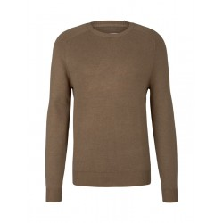 Pull tricoté Modern Basic by Tom Tailor