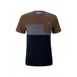 1021256 cutline t-shirt by Tom Tailor