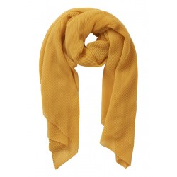Basic scarf with pleated fabric by Betty Barclay