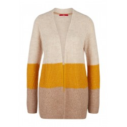 Cardigan with color blocking by s.Oliver Red Label