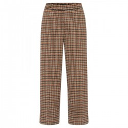 Minimal Check Jersey Culotte by More & More