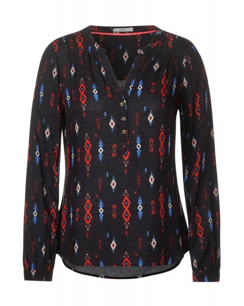 Ethno Print Blouse by Cecil