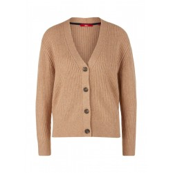 Cardigan avec patte de boutonnage by s.Oliver Red Label