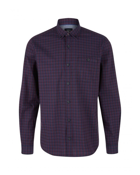Confort Fit: chemise à manches longues by s.Oliver Red Label