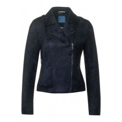 Kunst-Velourslederjacke by Street One