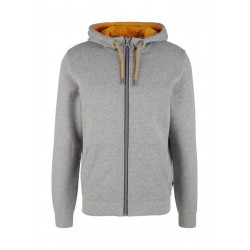 Sweatjacke mit Hoodie by s.Oliver Red Label