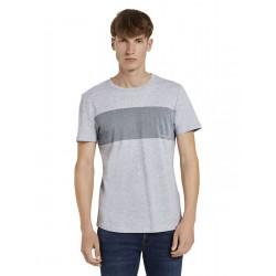 1021280 T-shirt with chestprint by Tom Tailor Denim