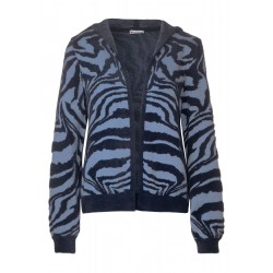 Zebra cardigan by Street One