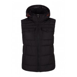 Quilted vest with hood by s.Oliver Red Label