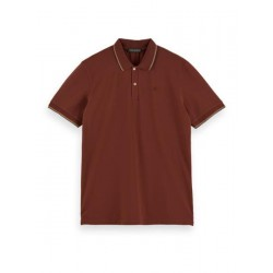 Polo shirt in cotton stretch by Scotch & Soda