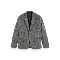 Blazer mit Karomuster by Scotch & Soda