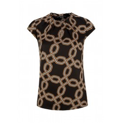 High-neck blouse by Comma
