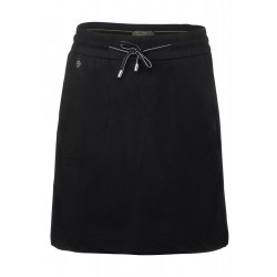 Short skirt in jogging style by Street One
