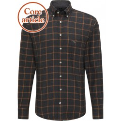 Flannel shirt checked by Fynch Hatton