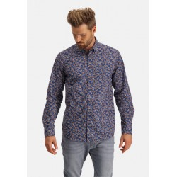 Shirt with floral print by State of Art