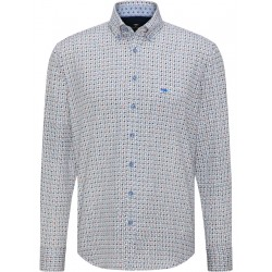 Shirt with all-over pattern by Fynch Hatton