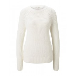 Basic pullover with raglan sleeves by Tom Tailor Denim