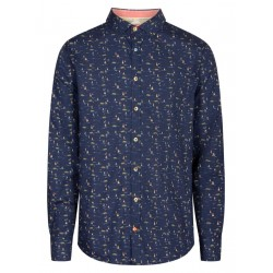 Shirt with all-over pattern by Colours & Sons