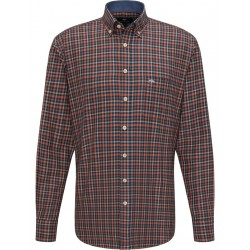 Checked shirt with pocket by Fynch Hatton