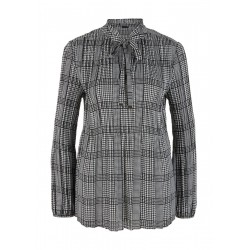 Patterned pleated blouse by s.Oliver Black Label