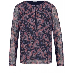Langarmshirt aus Mesh by Gerry Weber Collection
