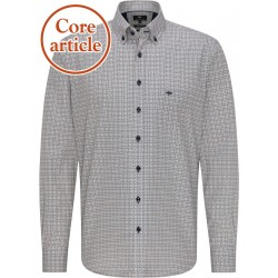 Comfort Fit: long sleeve shirt by Fynch Hatton