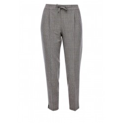 Checked trousers by Q/S designed by