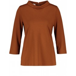 Blouse shirt with a small stand-up collar by Gerry Weber Collection