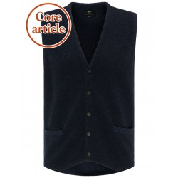 Vest with structure mix by Fynch Hatton
