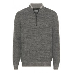 Sweater with zipper by Camel