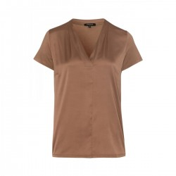 V-Neck with Satinfront by More & More