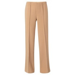 Relaxed trousers with wide leg by Yaya