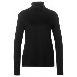 Basic roll neck shirt by Street One