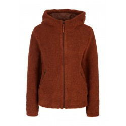 Teddy-Plüsch-Jacke by s.Oliver Red Label