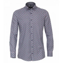 Confort Fit: chemise à manches longues by Casamoda