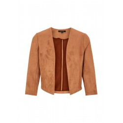 Blazer in suede look by Comma