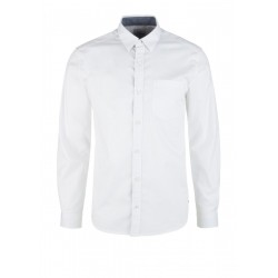 Regular: Shirt with woven structure by s.Oliver Red Label