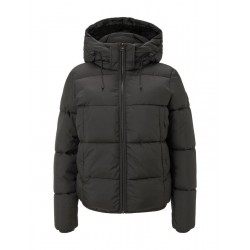 Short puffa jacket with hood by Tom Tailor Denim