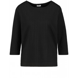 Sweatshirt avec motif jacquard by Gerry Weber Collection