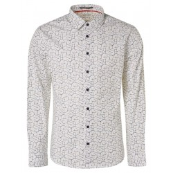 Modern Fit: chemise à manches longues by No Excess
