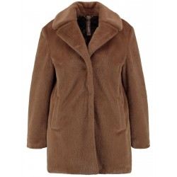 Jacket in soft fake fur by Samoon
