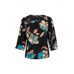 Blouse with all-over pattern by s.Oliver Black Label