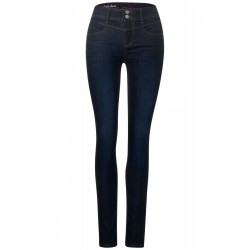 Blue-Denim im Slim Fit by Street One