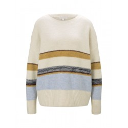 Cozy striped pullover by Tom Tailor Denim