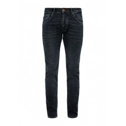 Slim Fit: Slim leg-Jeans mit Waschung by Q/S designed by